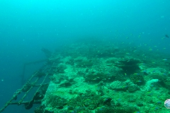Wreck diving at Addu Atoll