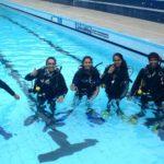 scuba diving family