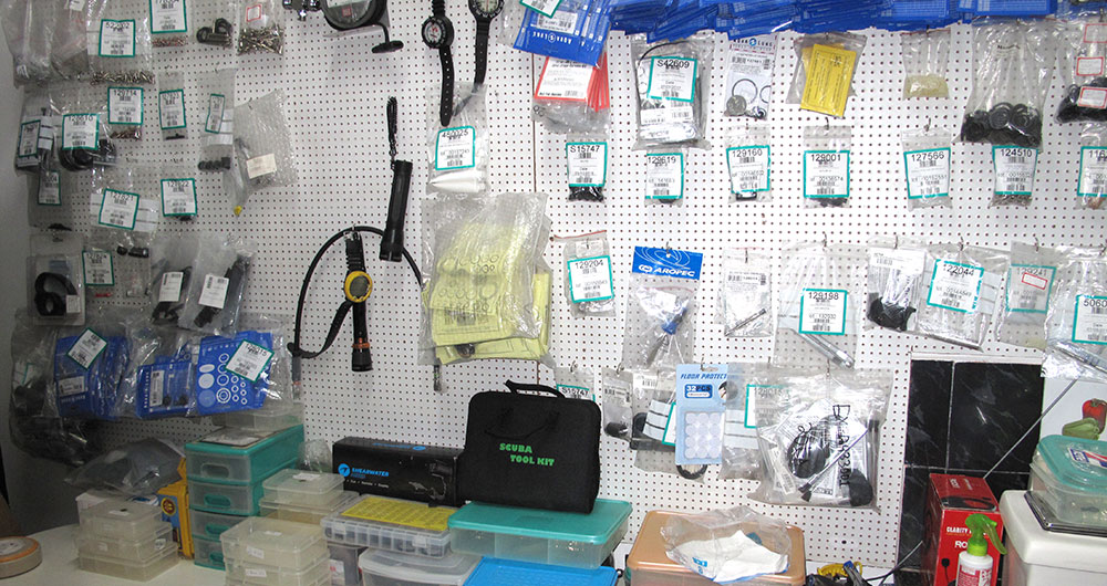 scuba-equipment-servicing
