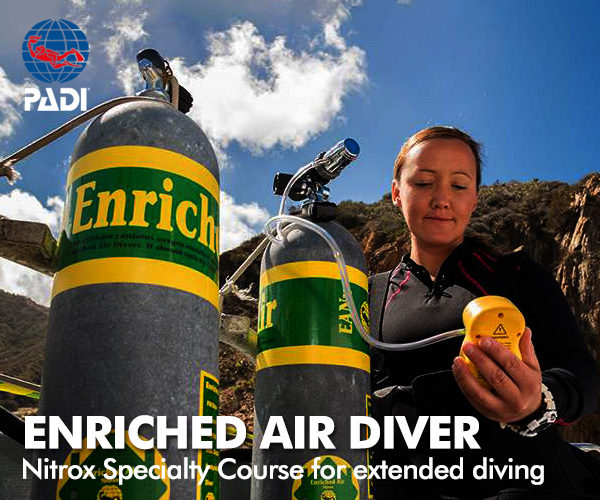 PADI Enchriched Air Diver Course
