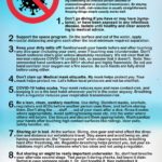 8 SIMPLE STEPS - COVID-19 RISK REDUCTION FOR DIVERS