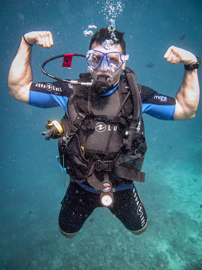 Scuba Dive for Fit India